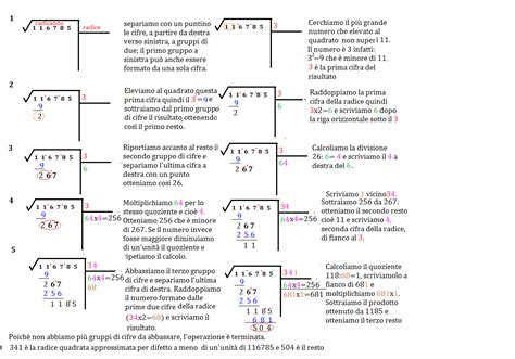 tavole numeriche radice quadrata radice quadrata archivi pagina 2 di 2 impariamo insieme