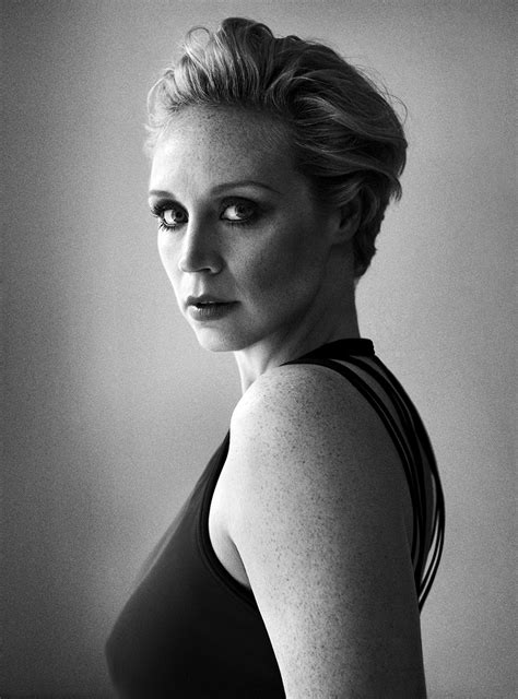 Fake Horse Head star wars gwendoline christie on playing captain phasma