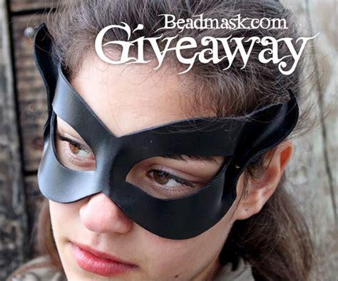 Giveaway Kittens - giveaway black cat mask beadmask