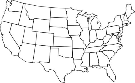 blank us map clip art at clker com vector clip art