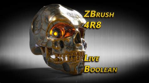 zbrush boolean tutorial zbrush 4r8 live boolean youtube