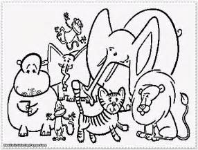 Preschoolers Cute Animal Coloring Pages For Girls Az Coloring » Ideas Home Design
