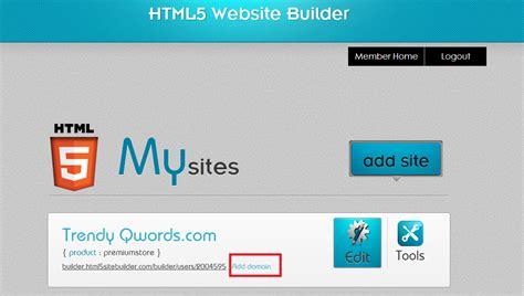 membuat website instan gratis membuat website html5 instan koneksi ftp qwords com