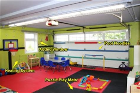 Garage Playroom by Turning Your Garage Into A Playroom Garaga