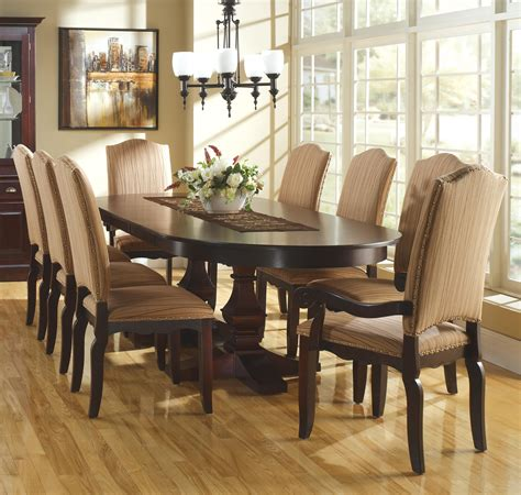 Custom Dining Room Sets Custom Dining Customizable Oval Table Set W Leaves By Canadel Dining Room Decor And Ideas