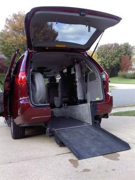 handicap ramp van crucial aspects for loading passengers