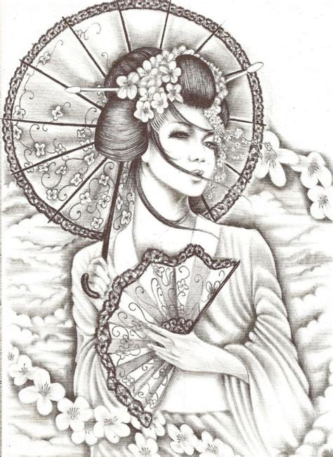 geisha warrior tattoo drawings evil geisha tattoo pin geisha japanese warriors tattoo