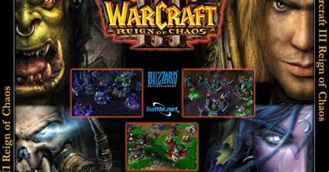 The World Game Pc Game War Craft Iii Reign Of Chaos