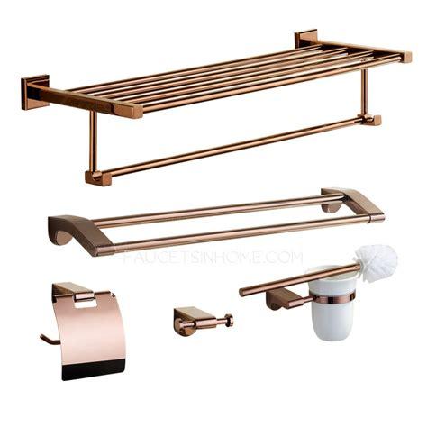 bathroom accessories sets luxury luxury gold five bathroom accessory sets