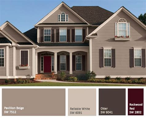 exterior paint for wood colours best 10 exterior color schemes ideas on