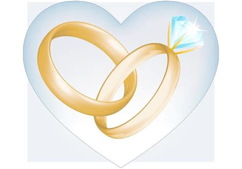 Wedding Ring Vector by Wedding Rings Vector Free Vector At Vecteezy