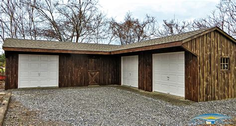 A Story L For Sale by Pine Board Batten Garages Rustic Garages Horizon Structures