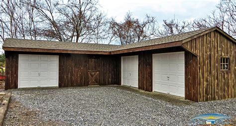 l shaped garages pine board batten garages rustic garages horizon