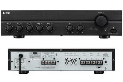 120w Mixer L Tone Controls Mxr For Address Pa 120xl toa black a 2120 120w 100v line lifier