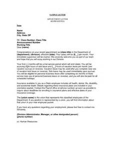 Appointment Letter Benefits Business Appointment Letter This Letter Is Used In Any Business Organizations For Getting The