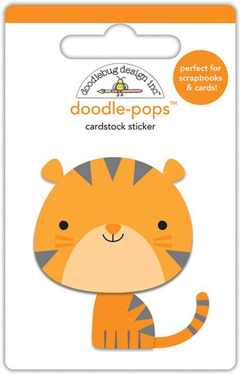 doodle zoo doodlebug design at the zoo doodle pops tiger 3