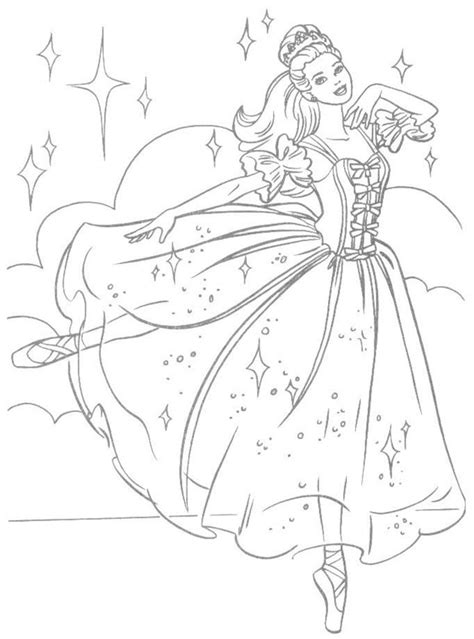 barbie dancing coloring pages free printable barbie coloring pages gianfreda net