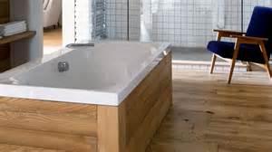 habillage baignoire bois teck mzaol