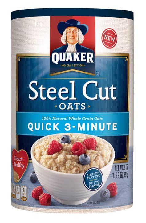 whole grain quaker oats nutrition facts quaker oats steel cut cook