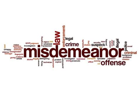Misdemeanor Record What Is A Quot Misdemeanor Quot Nevada