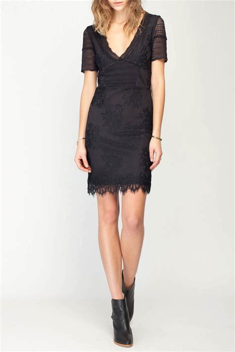 Dress Pesta Mini Lace Black Hitam Import M Limited 1 gentle fawn twilight lace dress from canada by the loop shoptiques