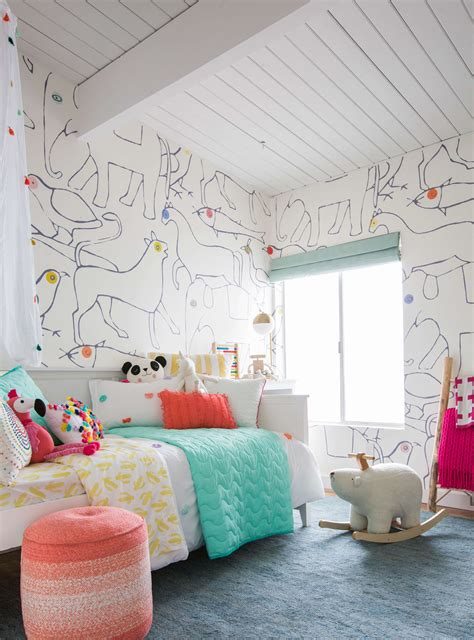 target kids bedroom decor charlie s big kid room styled to sell emily henderson