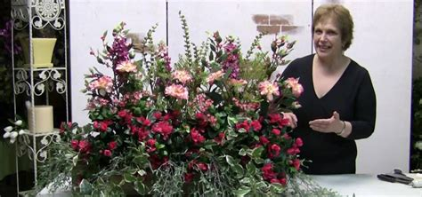 Landscaping Tips And Tricks How To Make A Windowbox Arrangement With Silk Flowers