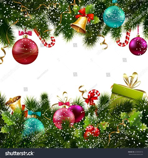 merry christmas happy  year greeting stock vector  shutterstock