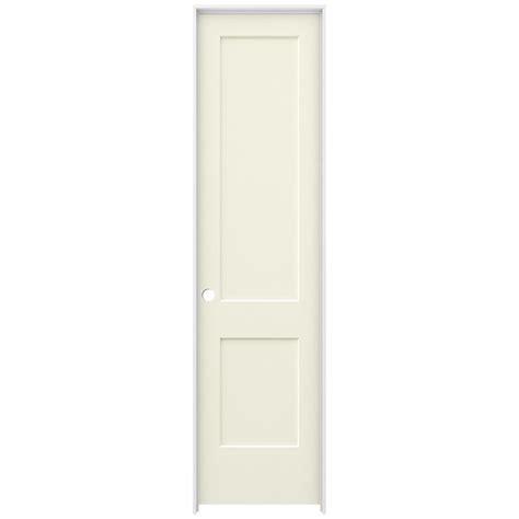 96 Interior Door Jeld Wen 24 In X 96 In Smooth 2 Panel Vanilla Solid Molded Composite Single