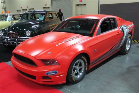 mustang jet 2014 ford racing cobra jet mustang sells at auction