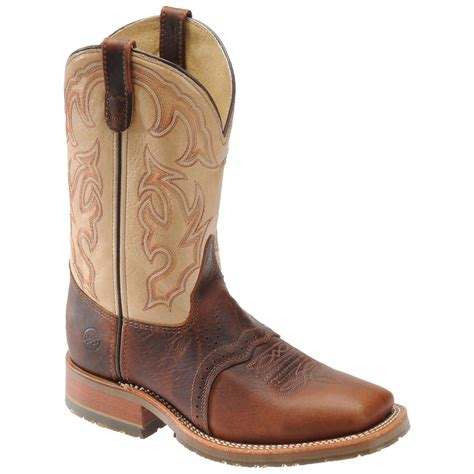 s h boots 174 wide square toe ice roper boots