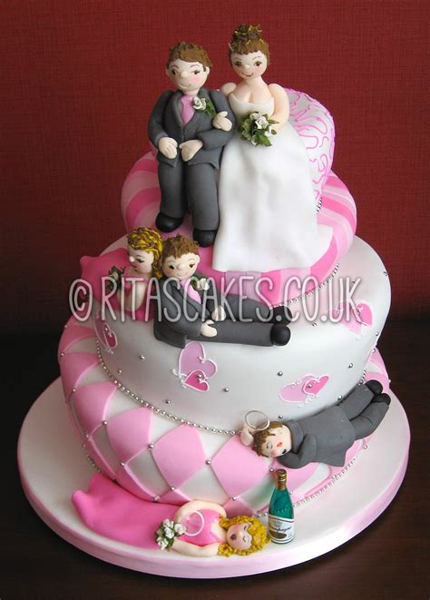 Novelty Wedding Cakes by Ritas Cakes Novelty Wedding Cakes