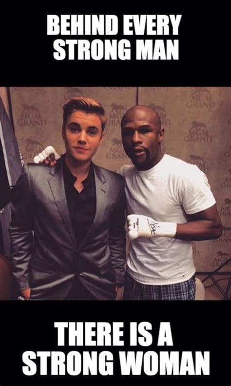 Strong Man Meme - behind every strong man mayweather vs pacquiao know