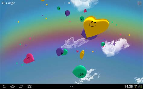 google welcome wallpaper приложения в google play воздушные шарики 3d живые обои