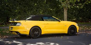 Ford Convertible Cars 2016 Ford Mustang Gt Convertible Weekender Photos