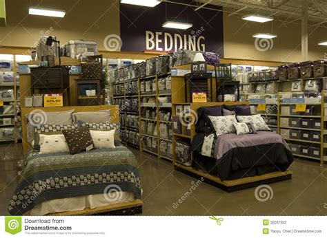 home goods store editorial photography image of organized