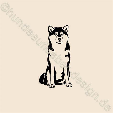 Shiba Inu Aufkleber Für Auto by Hundeaufkleber Shop Shiba Inu Aufkleber