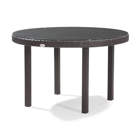 Dijon Round Patio Dining Table 48 Inch Ca Dj 825a 48 48 Patio Table