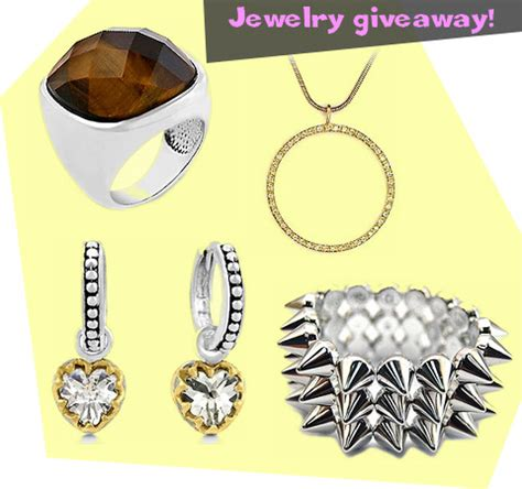Free Jewelry Giveaway - free jewelry giveaway from fantasy jewelry box fashion blogger sophie at hipgirlie com