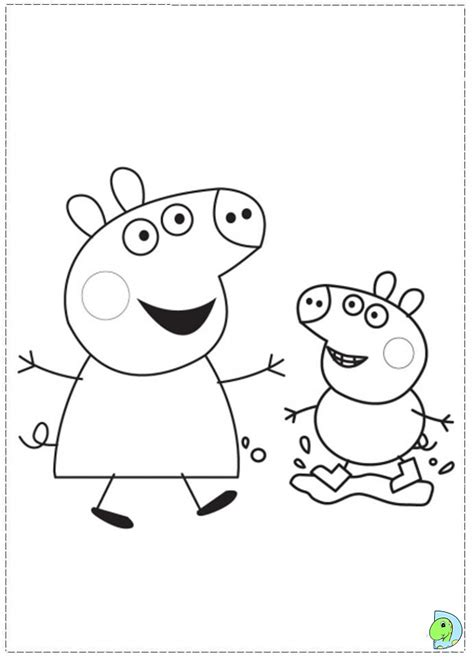 peppa pig characters coloring pages free coloring pages of susie peppa pig