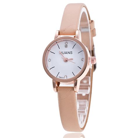 Always In Fashion Luxurious Leather by 2018 Clock Luxury Fashion Pu Leather