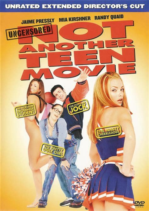 unrated video not another teen movie unrated uncensored extended