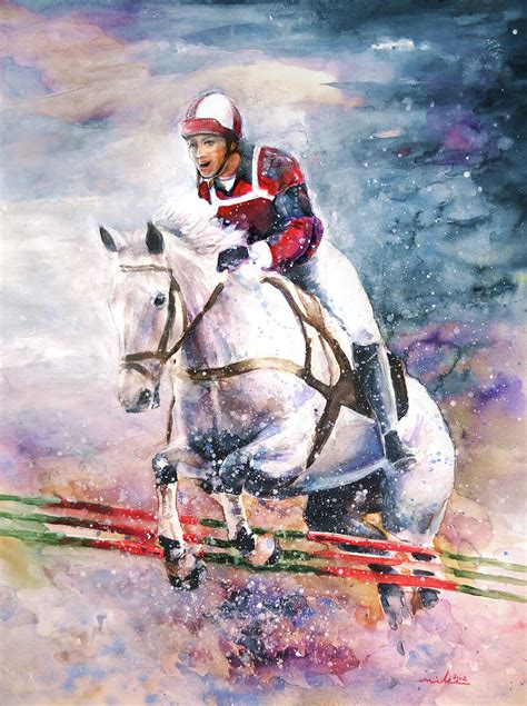 show about painting show jumping painting by miki de goodaboom