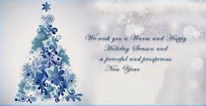 christmas and new year wishes quotes for business image