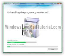 windows 10 live mail tutorial uninstall windows live mail from windows 7 8 10 vista