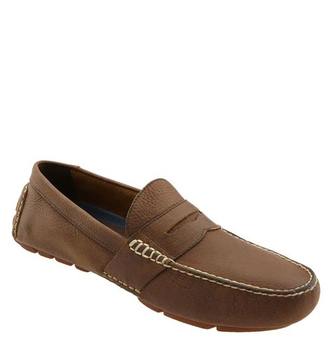 polo ralph loafers polo ralph telly driving loafer in brown for