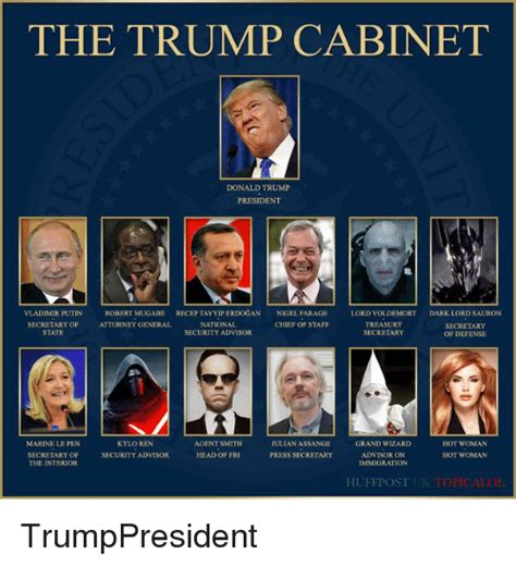 cabinet of donald trump post your funny pictures here part deux