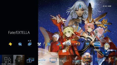 psp themes ps4 fate extella ps plus theme ps4 youtube