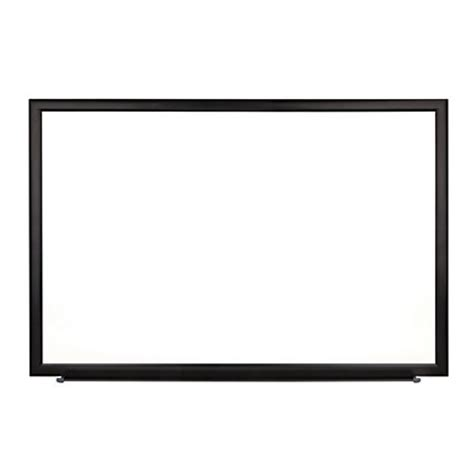 foray magnetic erase boards with aluminum frame