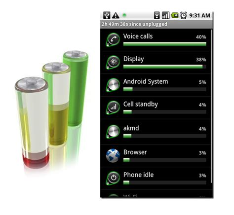 reset android battery usage extending battery life hello android